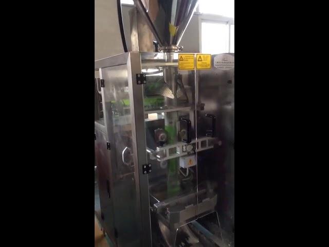 ऑगर फिलर मशीन दुध पावडर लहान लंबवत फॉर्म सील मशीन भरा
