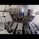 अनुलंब फॉर्मसाठी वापरलेले स्वयंचलित मल्टहेड वेजिअर सील पॅकिंग मशीन लाइन भरते
