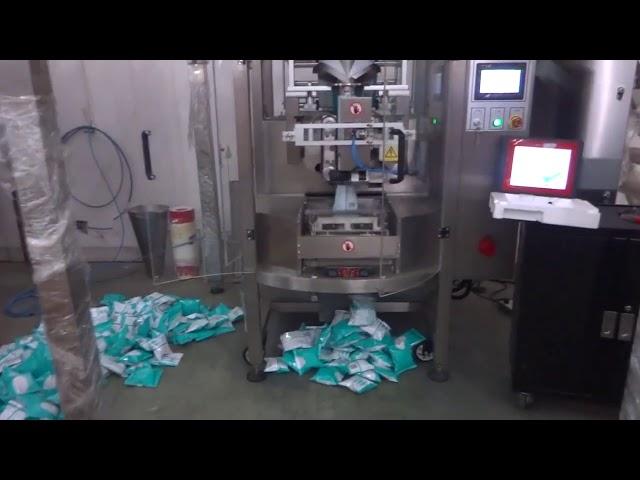 स्वयंचलित व्हर्टिकल फॉर्म सील पॅकेजिंग मशीन व्हीएफएफएस भरा