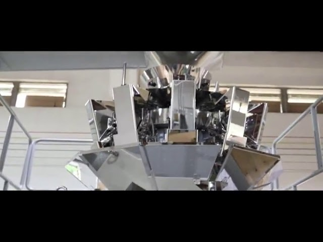 स्वयंचलित व्हर्टिकल ग्रेन साखर बीन राइस पॅकिंग मशीन