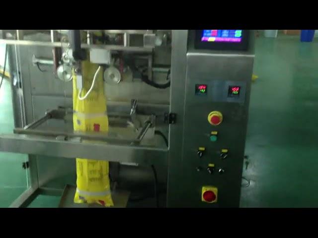 सीई ने ऑटोमॅटिक फॉर्मिंग शुगर वर्टिकल सॅथेक पॅकिंग मशीन मंजूर केली