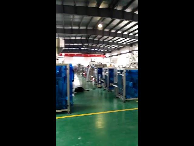 यूएसए बाजारासाठी कॅंडी साखरसाठी फ्लो पॅकिंग मशीन