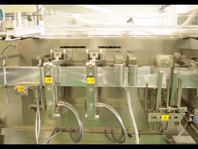 हाय स्पीड सपाट पाउडर पॅकेजिंग द्रव पॅकिंग मशीन