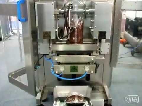 हनी लिक्विड सेहेट पॅकिंग मशीन / वॉटर पाउच केचप पॅकिंग मशीन किंमत