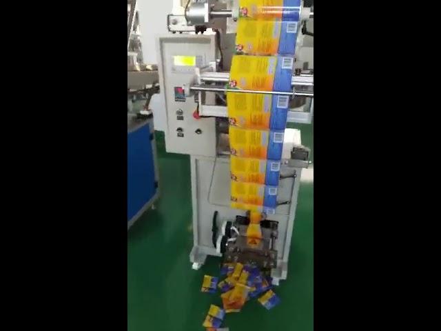 मसाल्याच्या पावडरसाठी कमी खर्चाची स्वयंचलित उच्च कार्यक्षमता लहान पिशवी पॅकिंग मशीन