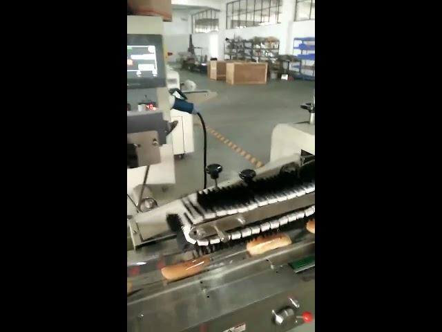 मॅन्युअल sachet क्षैतिज पॅकिंग मशीन