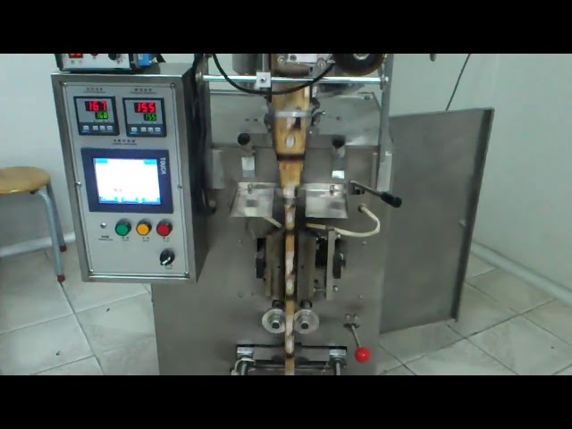 व्हर्टिकल फॉर्म स्प्लिंट डोर्सल क्लोजर सीलिंगसह शिपिंगची सील पॅकेजिंग मशीन भरते